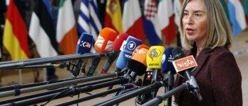 واکنش موگرینی به شوی تبلیغاتی نتانیاهو علیه کشور عزیزمان ایران